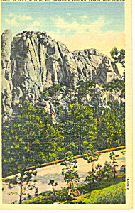 Rock Wall, Black Hills , SD  Postcard (Image1)