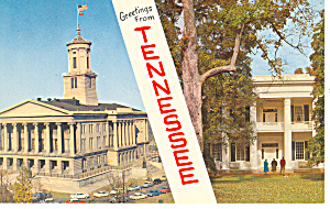 State Capitol Nashvile TN Postcard p17959 (Image1)