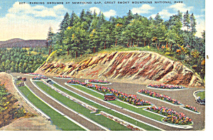 Parking Grounds Newfound Gap ,TN Postcard (Image1)
