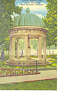 Tomb at The Hermitage TN Postcard p18011 (Image1)