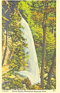 Rainbow Falls on Mt LaConte  TN Postcard p18013 (Image1)