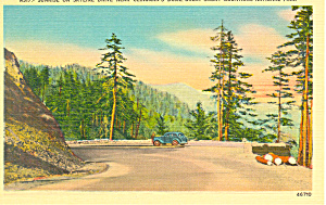 Sunrise  on Skyline Drive, TN Postcard (Image1)