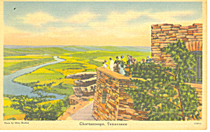 Ochs Memorial Lookout Mountain TN Postcard p18023 (Image1)