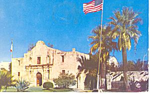 The Alamo  San Antonio  TX Postcard p18028 ca 1961 (Image1)