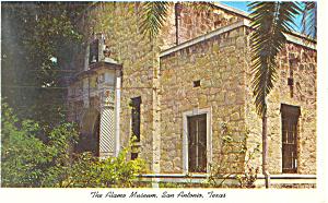 The Alamo Museum San Antonio  TX Postcard p18032 (Image1)