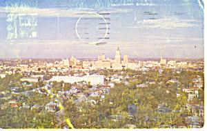 Skyline,San Antonio , TX Postcard 1953 (Image1)