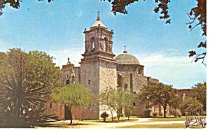 San Jose Mission, San Antonio, TX Postcard (Image1)