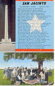 Words to San Jacinto by Julien C Hyer Postcard p18095 (Image1)