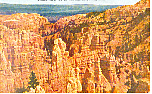 Fairyland Bryce Canyon National Park UT Postcard p18119 (Image1)