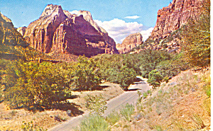 Zion National Park UT Postcard p18121 1959 (Image1)