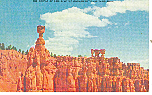 Temple Osiris Bryce Canyon National Park UT Postcard p18138 (Image1)