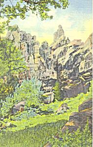 Brush Creek Gorge UT Postcard p18217 (Image1)