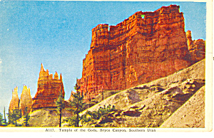Temple of Gods Bryce Canyon National Park UT Postcard p18220 (Image1)