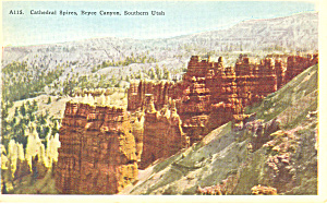 Cathedral Spires, Bryce Canyon National Park UT Postcar (Image1)