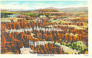 Bryce Canyon National Park UT Postcard (Image1)