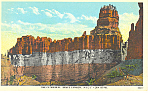 The Cathedral Bryce Canyon National Park UT Postcard p18224 (Image1)