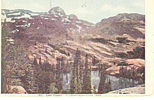 Lake Florence,Cottonwood Canyon UT Postcard 1909 (Image1)