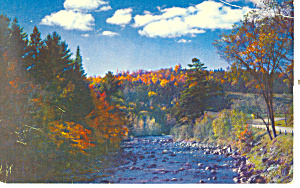 Vermont in Early Fall Postcard (Image1)