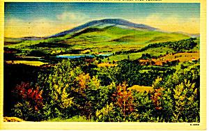 Mt Ascutney, Vermont Postcard 1944 (Image1)