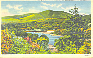 Mt Ascutney Vermont Postcard p18252 1943 (Image1)
