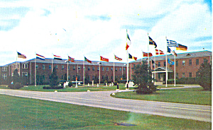 NATO Headquarters SACLANT Norfolk VA Postcard p18270 (Image1)