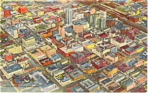 Birmingham Alabama Postcard (Image1)