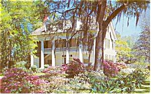 Louisiana Ante Bellum Home Postcard p1829 (Image1)