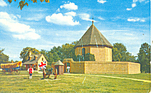 Guardhouse, Willamsburg,VA Postcard (Image1)