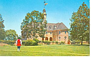 Colonial Capitol, Willamsburg,VA Postcard (Image1)