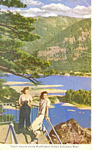Columbia River, WA Postcard (Image1)