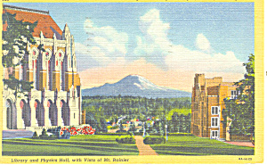 University of Washington,Seattle,WA Postcard 1946 (Image1)
