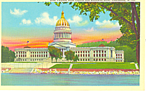 State Capitol, Charleston, WV Postcard (Image1)