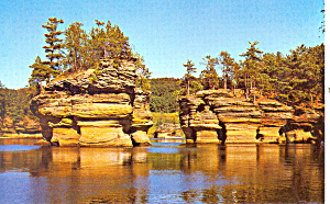 Sugar Bowl Wisconsin Dells Wi Postcard P18439