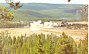 Old Faithful and Inn, Yellowstone National Park WY (Image1)