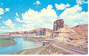 Toll Gate Palisades US 30 Green River WY Postcard (Image1)