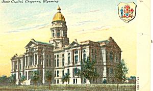 State Capitol Cheyenne WY Postcard p18473 (Image1)