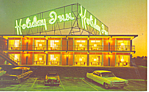 Holiday Inn NC  Cars of 60s Postcard p18483 (Image1)