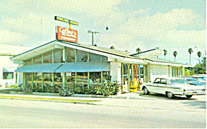 Colleys Lil Shrimp House, St Augustine,FL Postcard Cars (Image1)