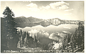Panorama Crater Lake,Oregon RPPC (Image1)