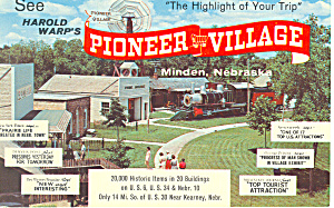 Warps Pioneer Village, MInden, NE Postcard (Image1)