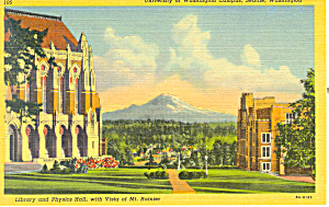 University Of Washington, Seattle, WA Postcard (Image1)