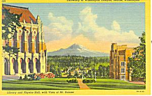 University Of Washington Seattle WA Postcard p18518 (Image1)