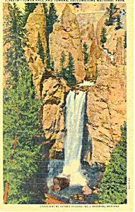 Tower Fall, Yellowstone National Park Postcard (Image1)