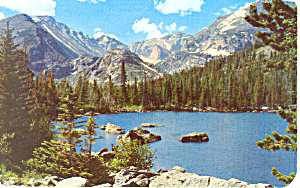 Bear Lake,Rocky Mountain National Park,CO Postcard (Image1)