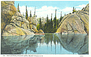Sylvan Lake South Dakota Postcard p18552 (Image1)