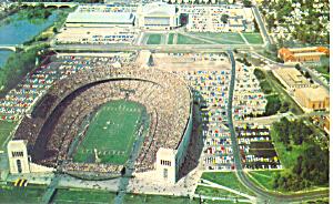 Ohio State University Stadium Postcard p18559 (Image1)