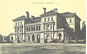 The Breakers, Newport, RI Postcard (Image1)