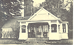 The Playhouse at The Breakers, Newport, RI Postcard (Image1)