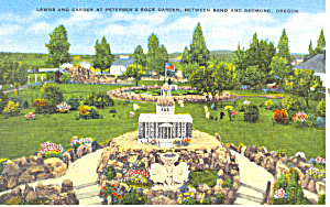 Petersen's Rock Garden, Bend, OR  Postcard (Image1)