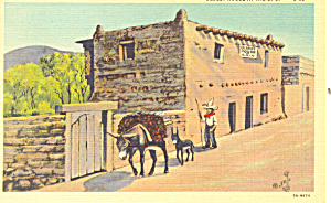 Oldest House In Us Santa Fe Nm Postcard P18568